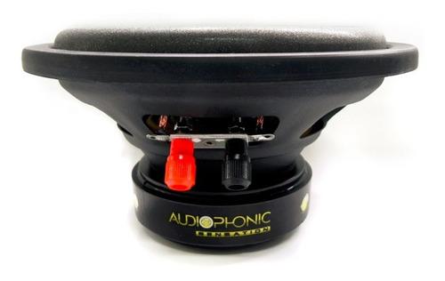 subwoofer audiophonic sensation 8 polegadas 175w rms 4ohms