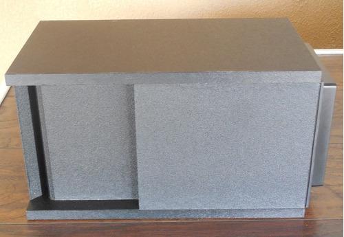 subwoofer bose acoustimass 3 serie ii en blanco y en negro