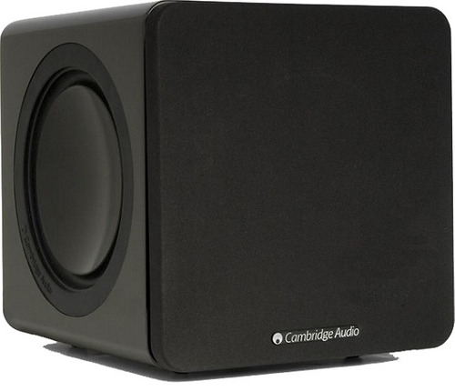 subwoofer cambridge audio minx x201 black gloss rev oficial