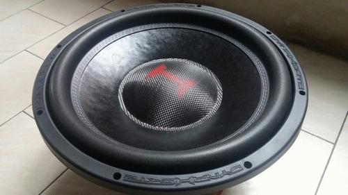 subwoofer dynahertz h315 limited 1200w rms doble bobina