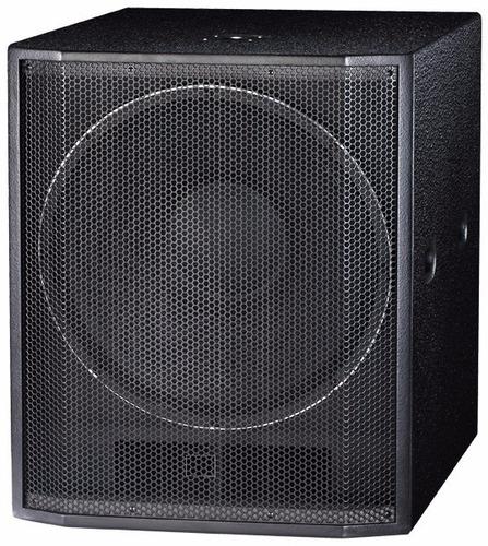 subwoofer e-sound lx-w18 - caja de graves- envios!