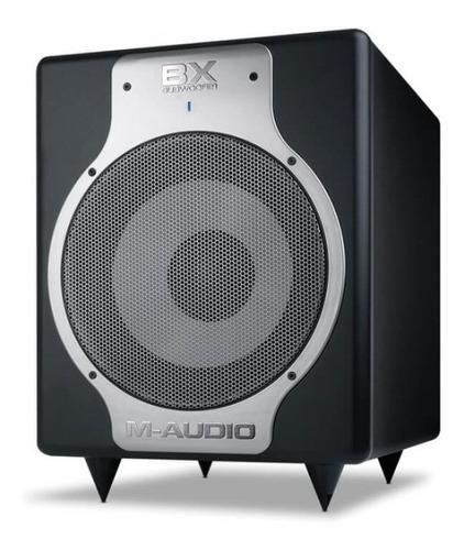 subwoofer estudio m audio bx sub monitor graves woofer 10 p