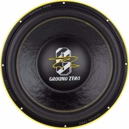 subwoofer ground zero gzpw 15 limited 5000w rms 2x1 ohms