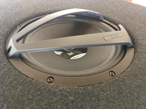 subwoofer hertz ds 250 10 polegadas + caixa selada