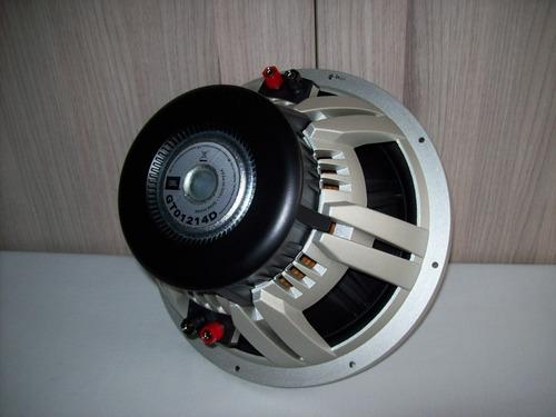 subwoofer jbl gto1214d doble bobina totalmente nuevo