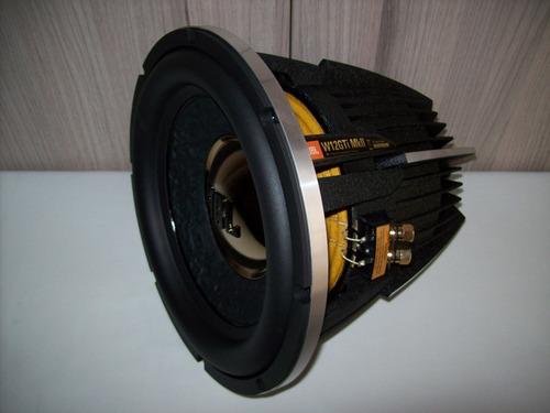 subwoofer jbl w12gti mkii doble bobina totalmente nuevo