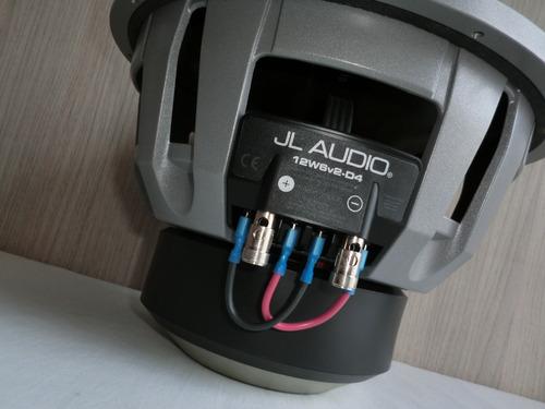 subwoofer jl audio 12w6v2-d4 fabricado en estados unidos