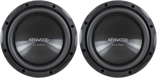 subwoofer kenwood excelon kfc-xw10 - pronta entrega - r$ 549,00 em