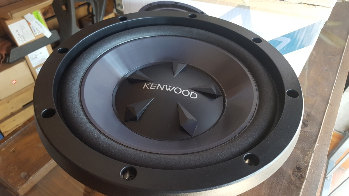 Kenwood Kfcw112s 1600w Performance Series 12quot Subwoofer