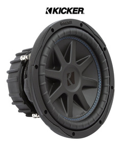 """Kicker 44CWCD104 CompC Series 10/"""" subwoofer with dual 4-ohm voice coils"""