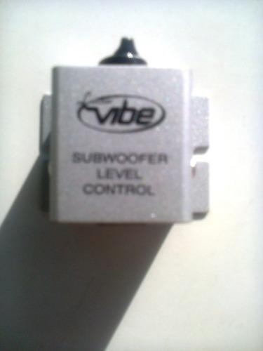 subwoofer level control