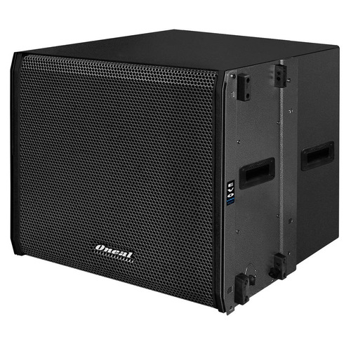 subwoofer line array ativo fal 18 pol 600w - ols 1018 oneal