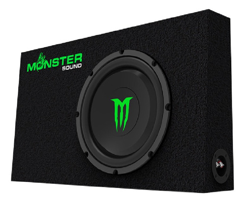 subwoofer monster m-124s c slim 12     1000w