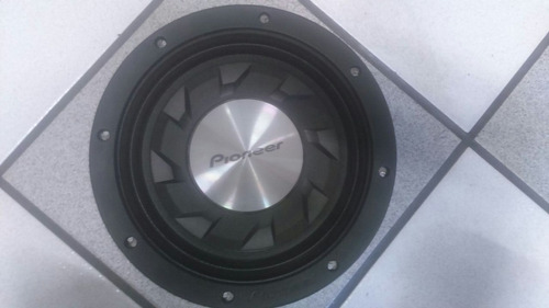 subwoofer pioneer ts-sw124 12´ 500 rms 4 ohm