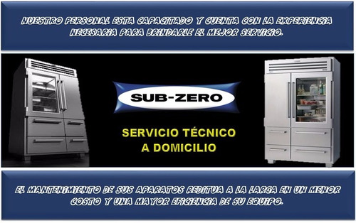 subzero servicio técnico autorizado neveras