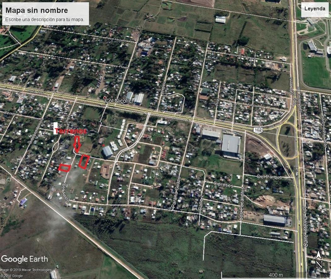 suc. shangrilá - venta terreno financiado barrio lacrosse