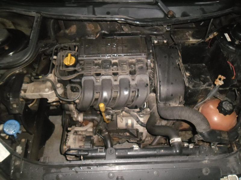 sucata 206 1.0 16v 2 portas 05 pra tirar peças motor modulo