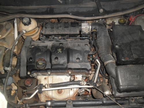 sucata  206 1.6 16v 01 pra tirar  peças motor cambio modulo