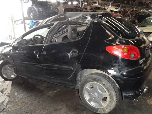 sucata 206 para retirar peças motor/cambio/porta/rodas/vidro