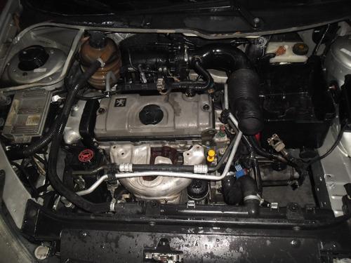 sucata 206 sw 1.4 8v gasolina 05 pra tirar peças motor capo