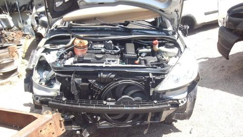 sucata  207 1.4 8v peças motor cambio air bag acabamento