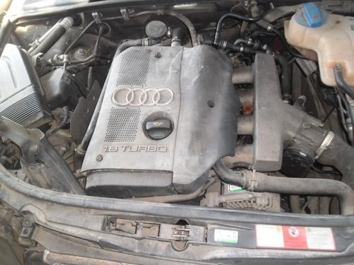 sucata a4 1.8 turbo tiptronic  pra tirar peças motor cambio