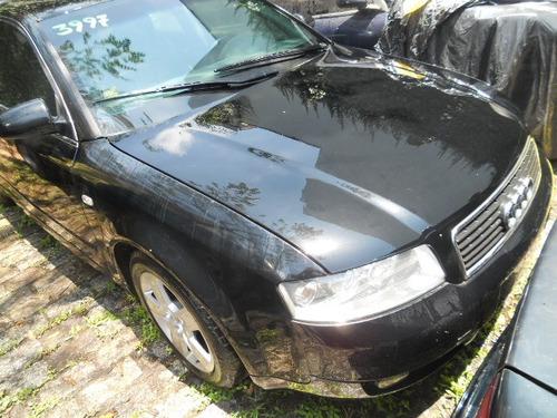 sucata audi a4 3.0 2002 rodas, motor, cambio, acabamentos