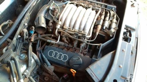 sucata audi a4 96 2.8 v6 motor câmbio suspensão airbag farol