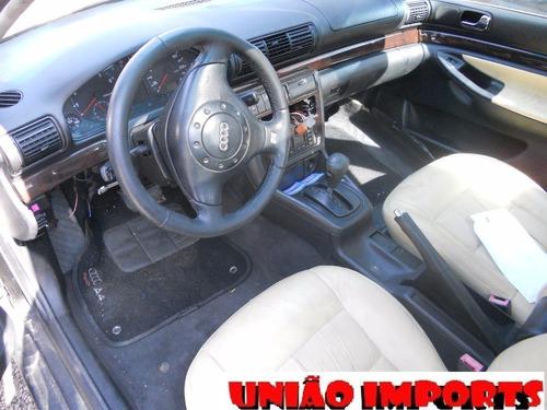 sucata audi a4 sedan 2000 1.8 20v turbo retirada de peças