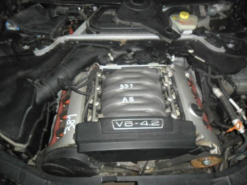 sucata audi a8 4.2 v8 2003 motor lataria cambio