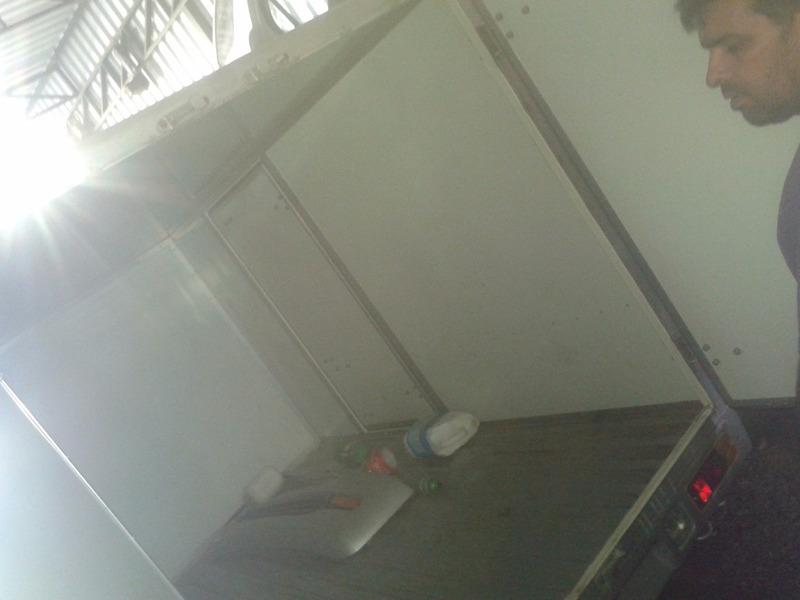 sucata baixada p/retirada peças effa / hafei towner 2011