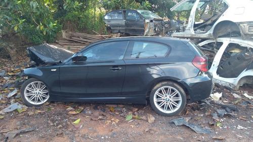 sucata bmw 118i 2011/2011 gasolina preta 136cvs