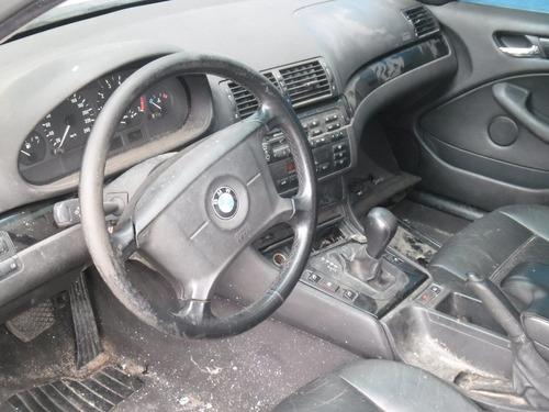 sucata bmw 323 00 pra tirar peças motor cambio capo porta