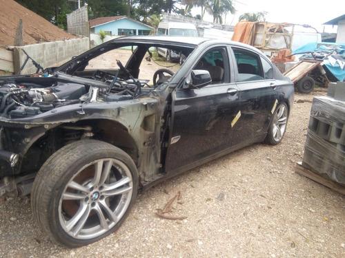 sucata bmw 750 hybrid 2012 gasolina 4.4 retirada de peças