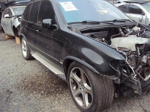 sucata bmw x5 4.4 v8 ano 2006 sucata para retirar peças