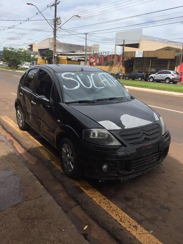 sucata c3 1.4 flex 2012