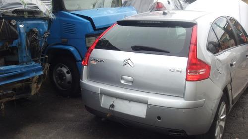 sucata c4 hatch 1.6 16v 2013 peças motor cambio air bag banc