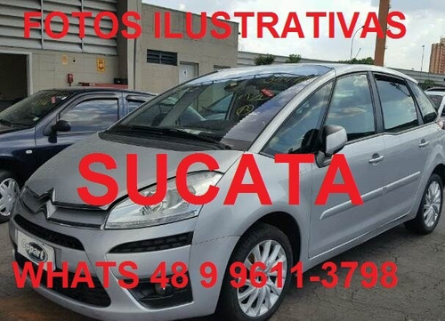 sucata c4 picasso 2.0 automatico flex 2011