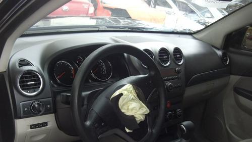 sucata captiva 2.4 aut 2009 peças, cambio motor rodas latari