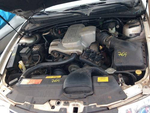 sucata chevrolet omega 2001 aut v6 3.8 para retirada de peça
