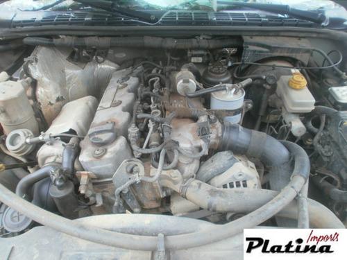 sucata chevrolet s10 08 peças motor câmbio diferencial
