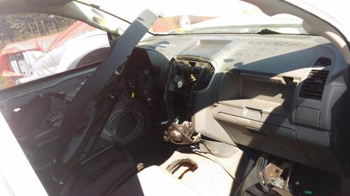 sucata chevrolet s10 2.4 2013 gasolina cabine simples