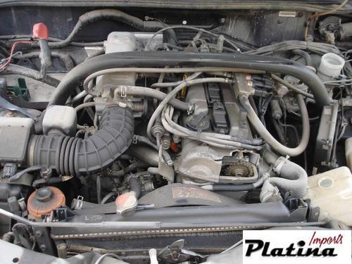 sucata chevrolet tracker 2.0 09 peças motor câmbio lataria