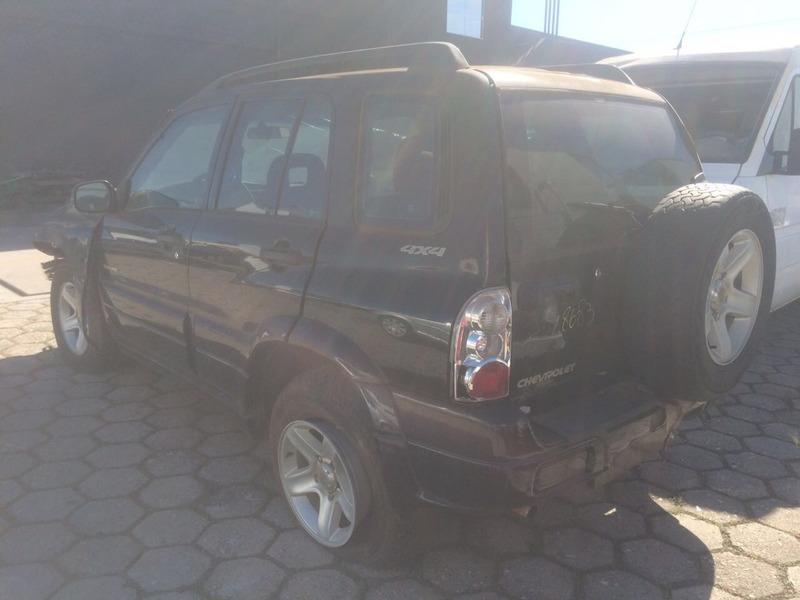 sucata chevrolet tracker 2.0 16v 4x4 gasolina 2008 peças