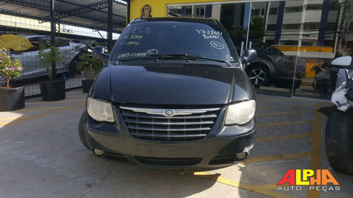 sucata chrysler grand caravan se 3.3 v6 2005-2006