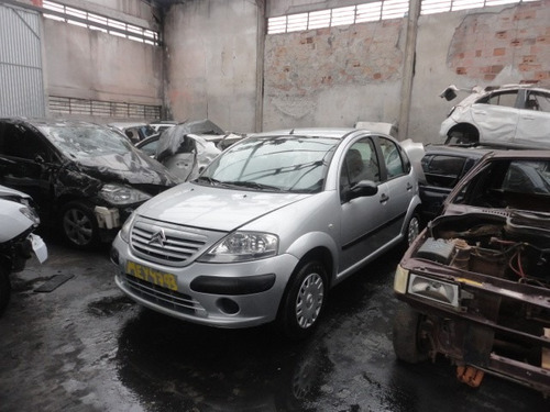 sucata citroen c3 glx 1.4 8v flex motor cambio air bag