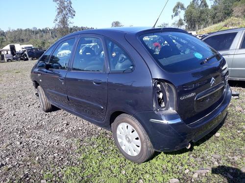 sucata citroen picasso 2.0 gasolina 2008 rs caí peças