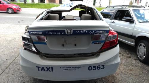 sucata civic sedan lxr 2.0 flexone 16v aut. 4p 2014 - pecas