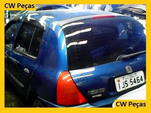 sucata clio para retirar peças motor/airbag/portas/farol.