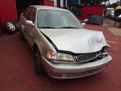 sucata corolla xei 2000 1.8 16v aut - retirada de peças